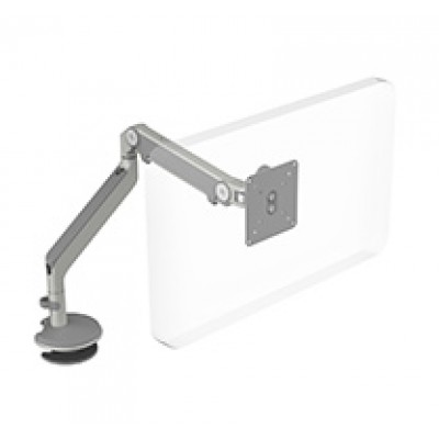 M2 Arm with Bolt-Through Mount, Silver with Gray Trim